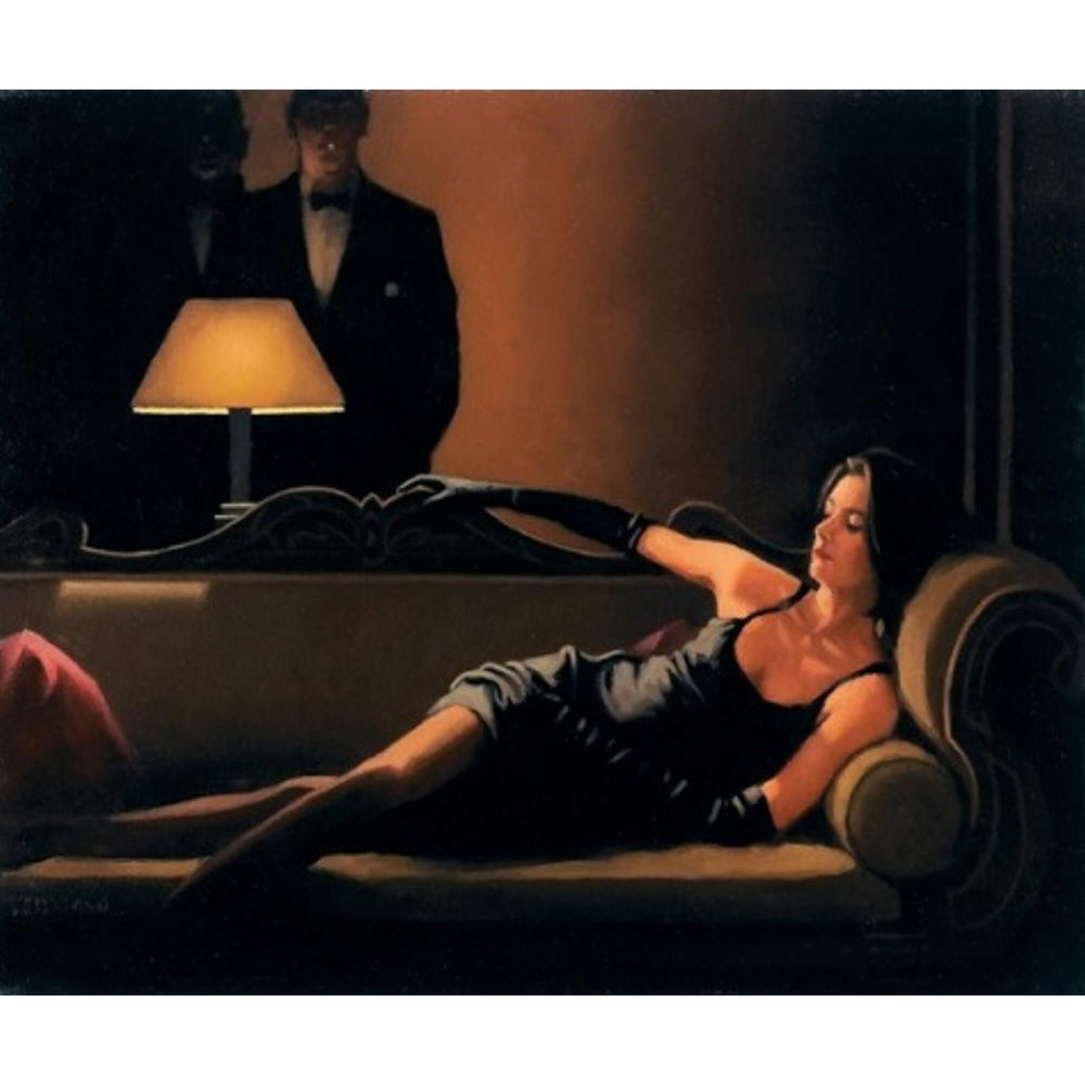 Along Came A Spider Jack Vettriano