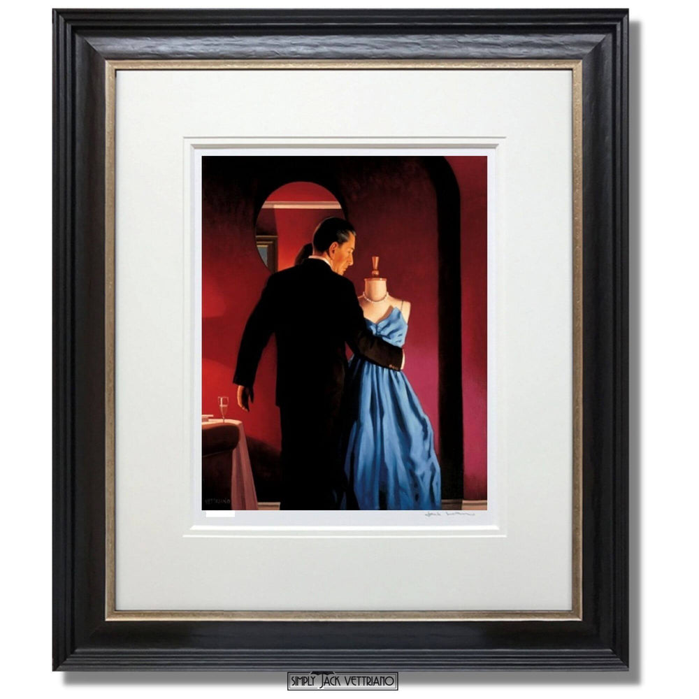 Altar of Memory Limited Edition Print Framed Jack Vettriano