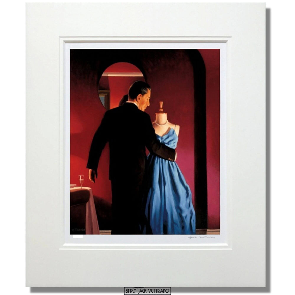 Jack Vettriano Altar of Memory Mounted
