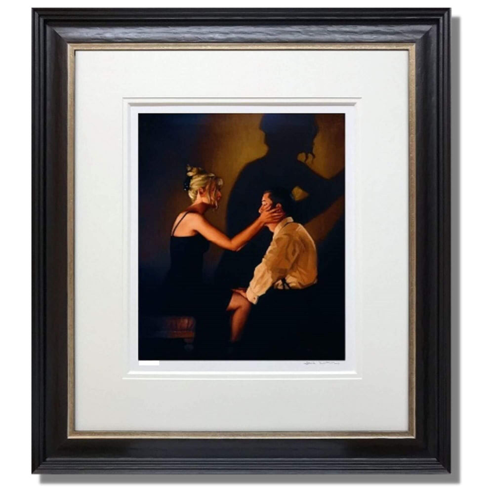 At Last My Lovely Jack Vettriano Limited Edition Print Framed