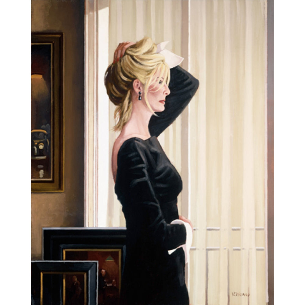 Black on Blonde Limited Edition Print Jack Vettriano