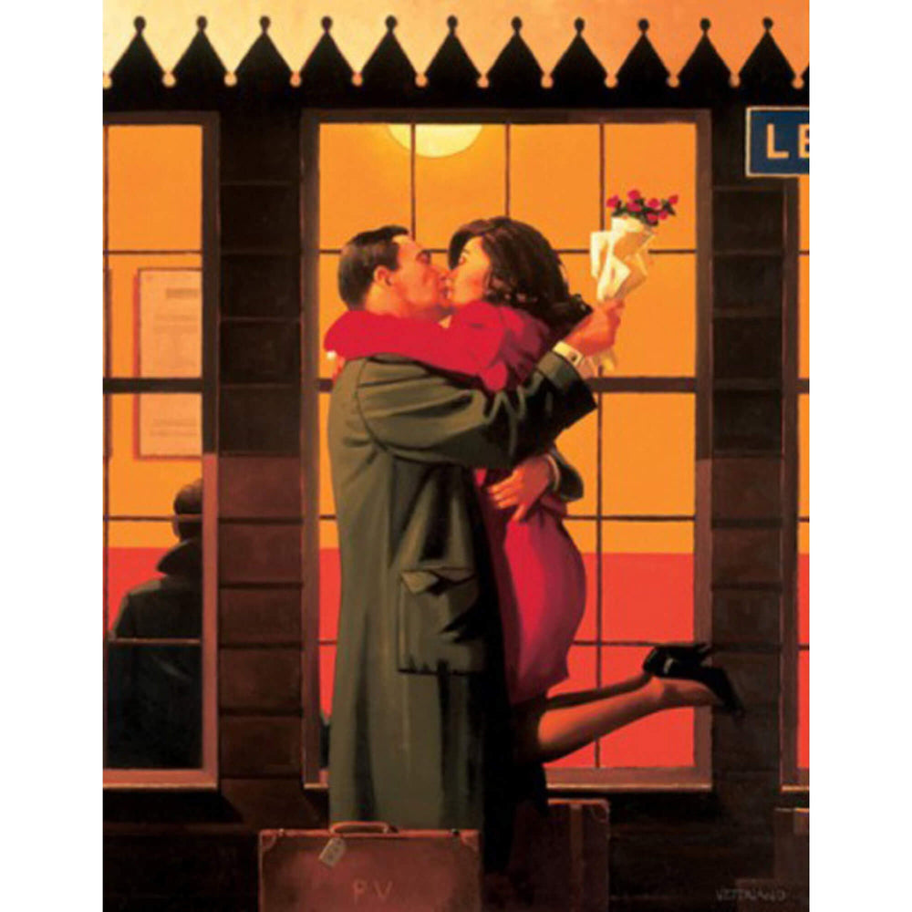 Back Where You Belong Jack Vettriano