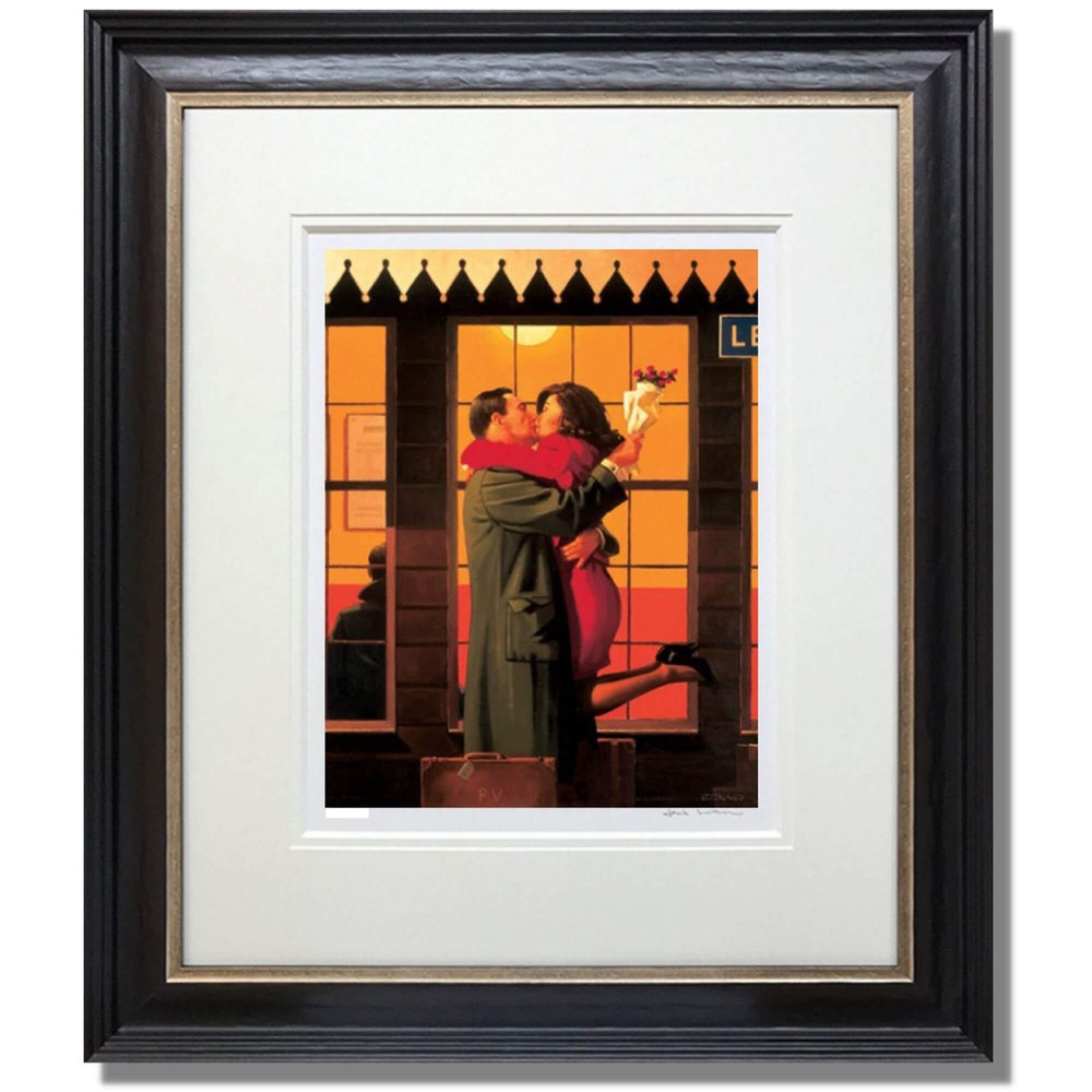 Back Where You Belong Studio Proof Framed Jack Vettriano