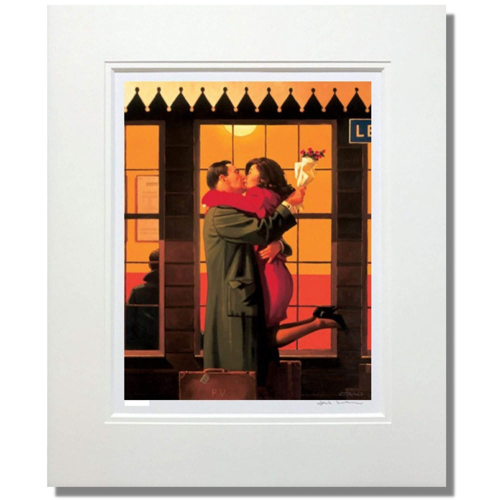 Back Where You Belong Mounted Jack Vettriano