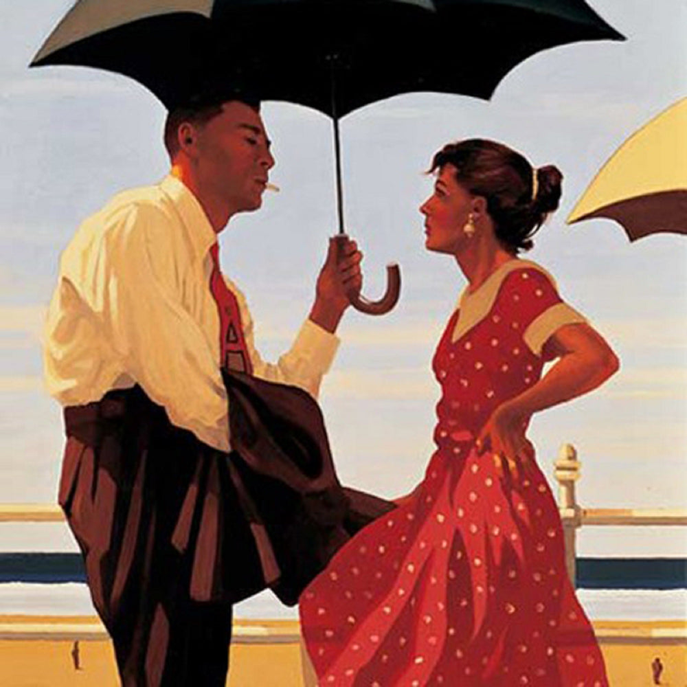 Bad Boy Good Girl by Jack Vettriano Limited Edition Print