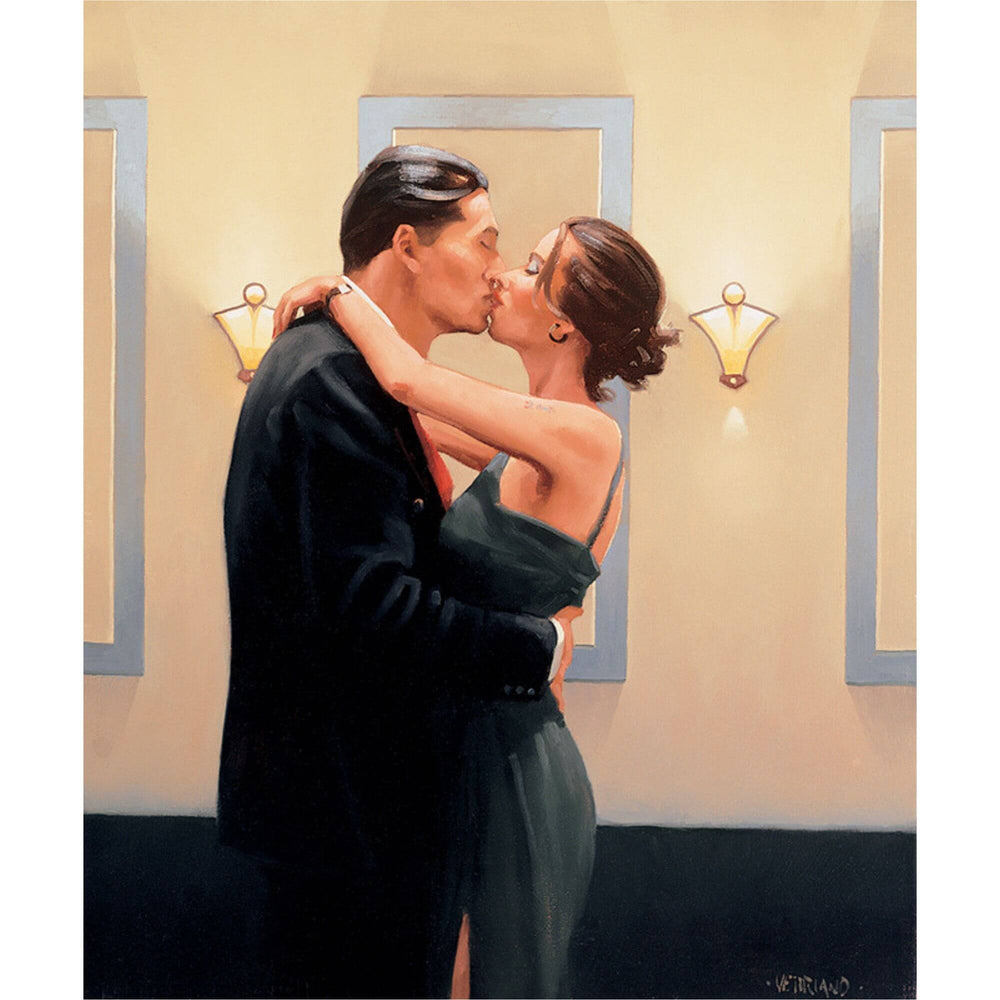 Betrayal First Kiss Jack Vettriano