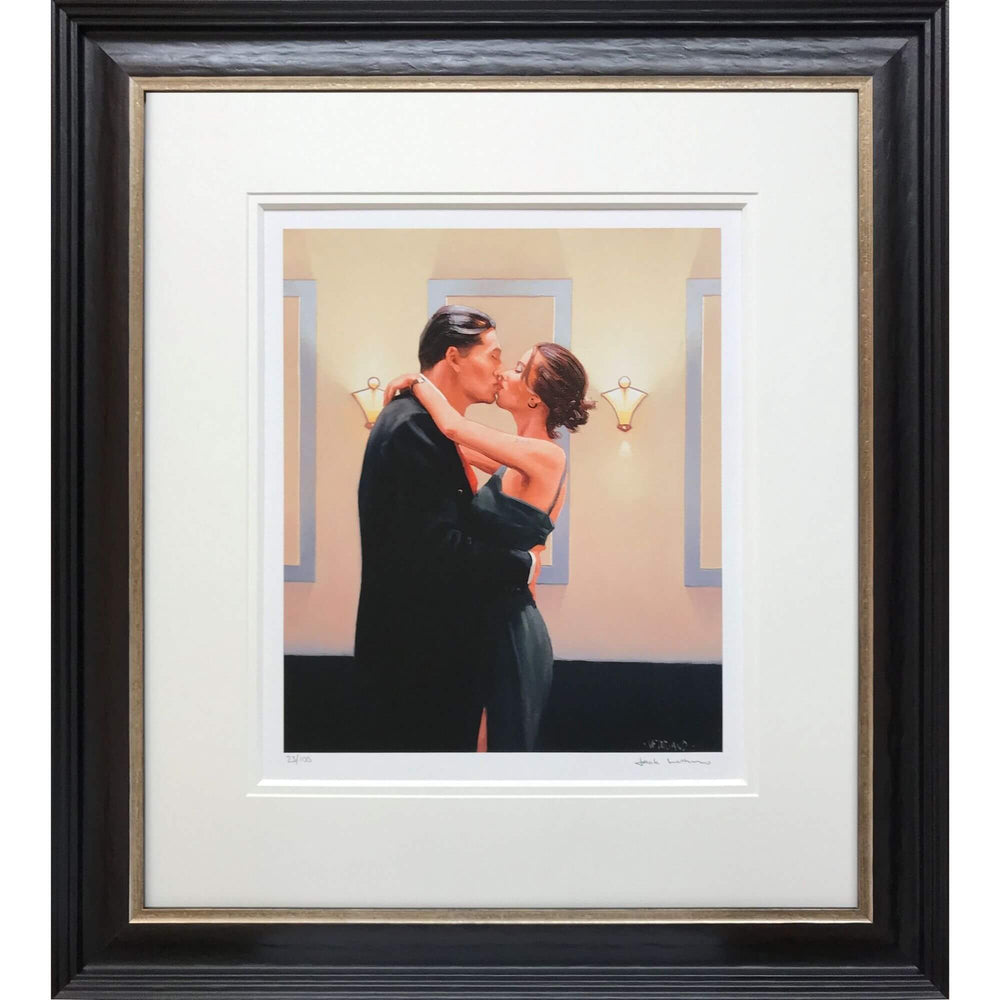 Betrayal First Kiss Jack Vettriano Framed