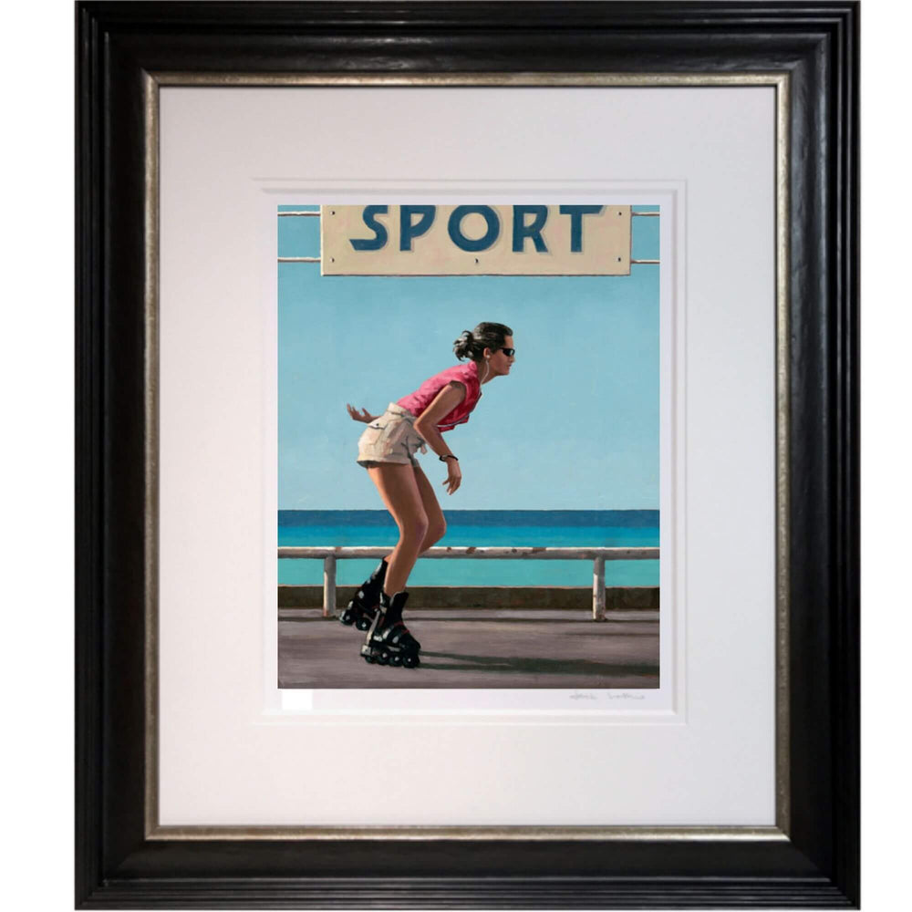 Blades Jack Vettriano Artists Proof Framed