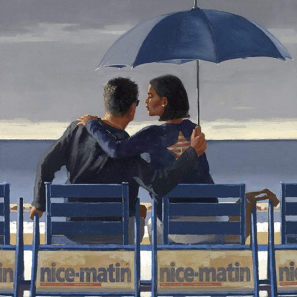 Blue Blue Limited Edition Print Jack Vettriano
