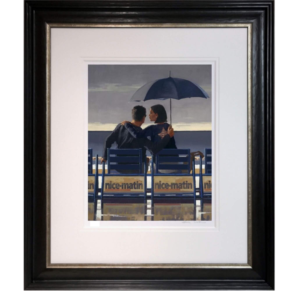 Jack Vettriano Blue Blue Framed Limited Edition
