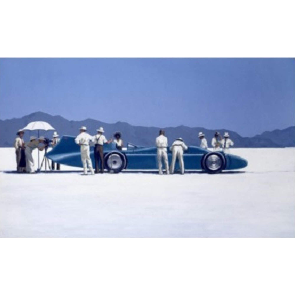 Bluebird at Bonneville Jack Vettriano