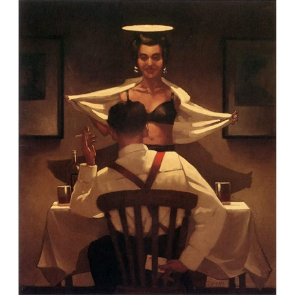 Busted Flush Jack Vettriano