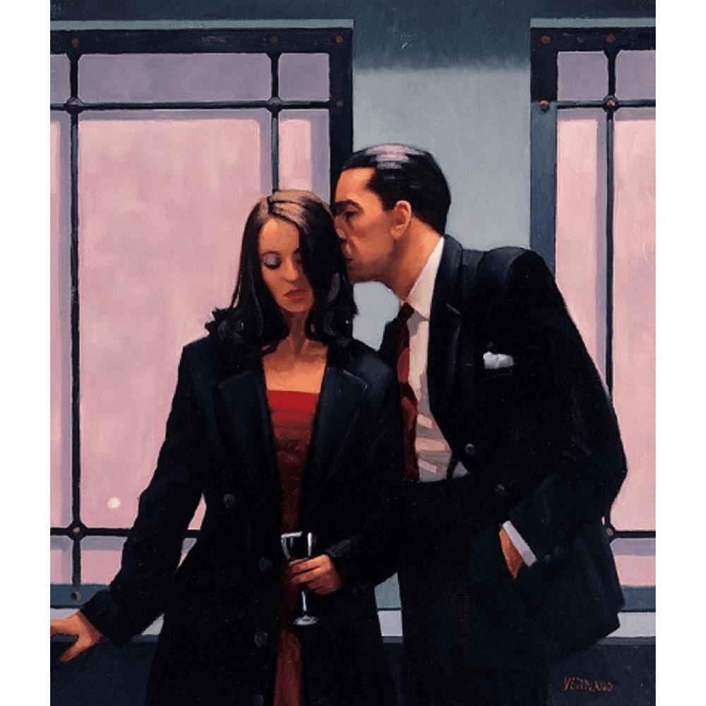 Contemplation Of Betrayal by Jack Vettriano Limited Edition Print