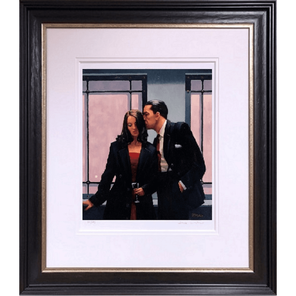 Contemplation Of Betrayal by Jack Vettriano Limited Edition Print Framed