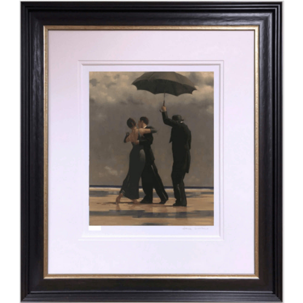 Dancer in Emerald Artist's Proof Framed Jack Vettriano