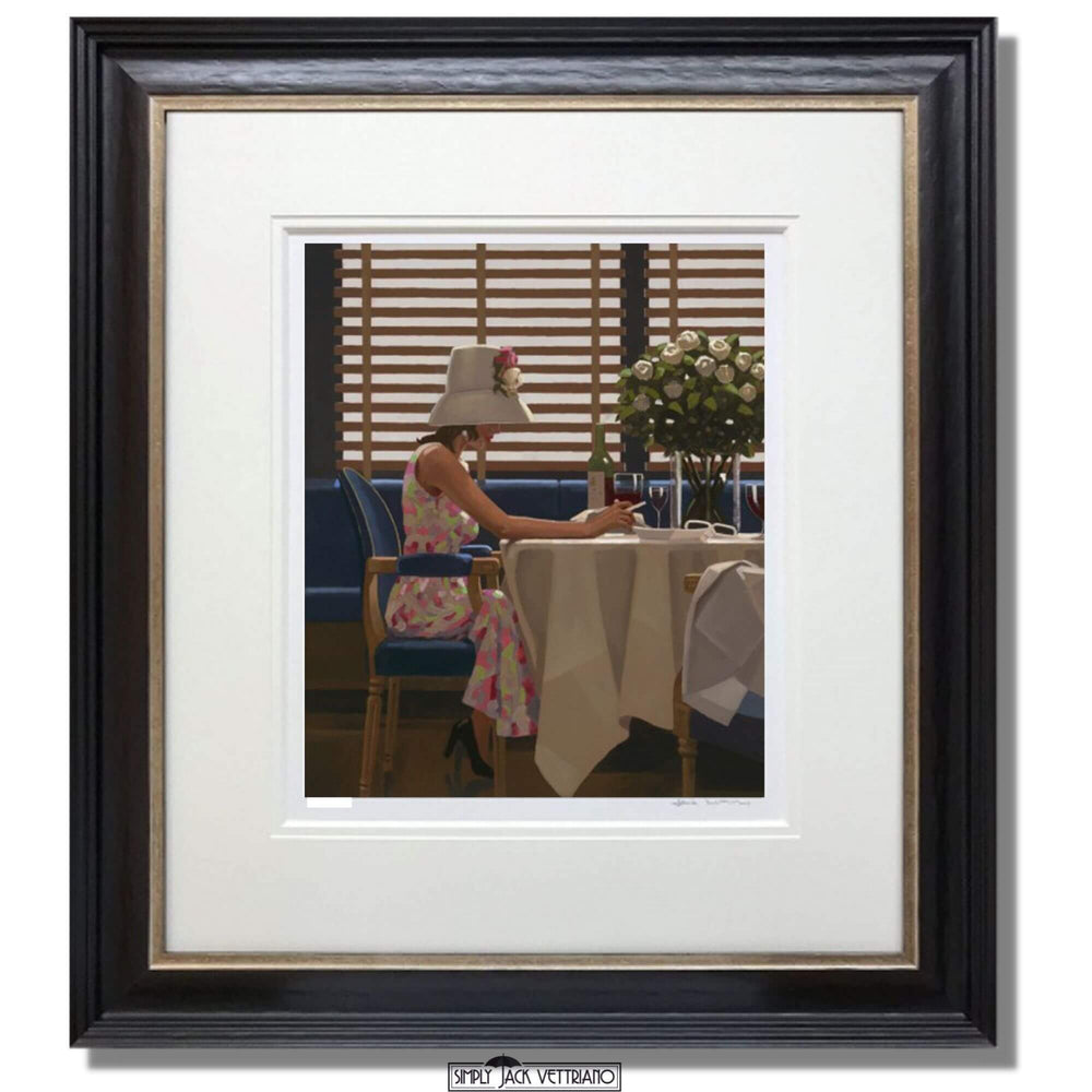 Days of Wine and Roses Jack Vettriano Framed