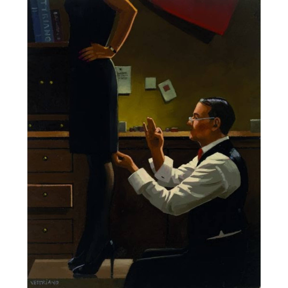 The Devoted Dressmaker Limited Edition Print Jack Vettriano