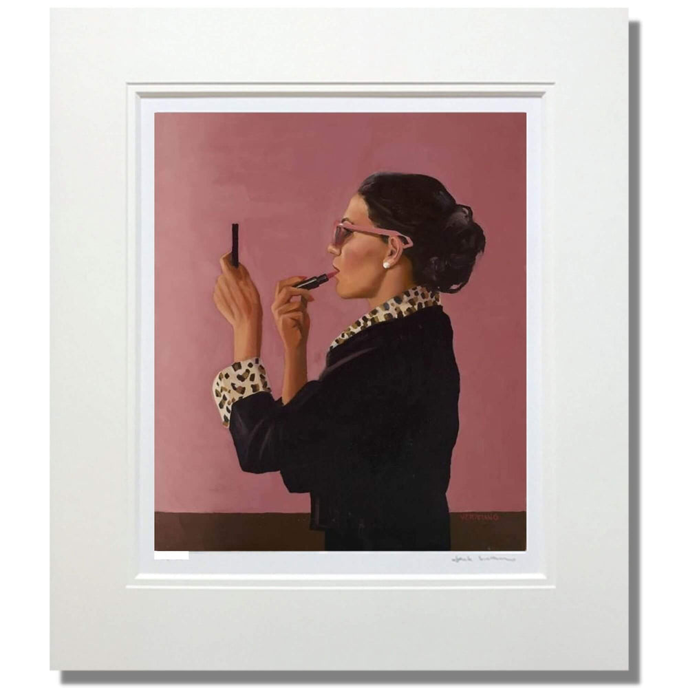 Diva by Jack Vettriano Limited Edition Print mounted