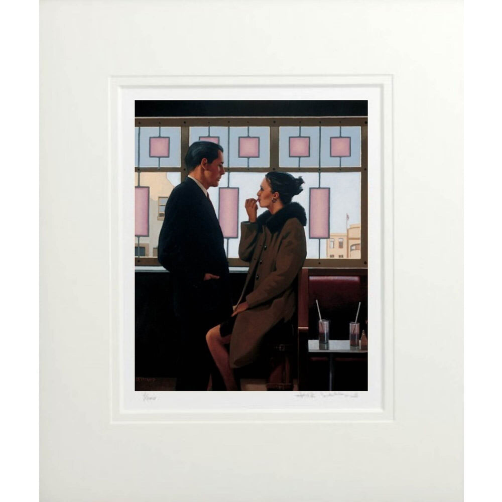 Drifters Jack Vettriano Limited Edition Mounted