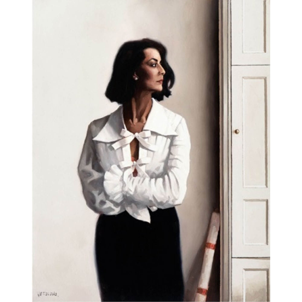 Edinburgh Afternoon The Contemplation Series Jack Vettriano