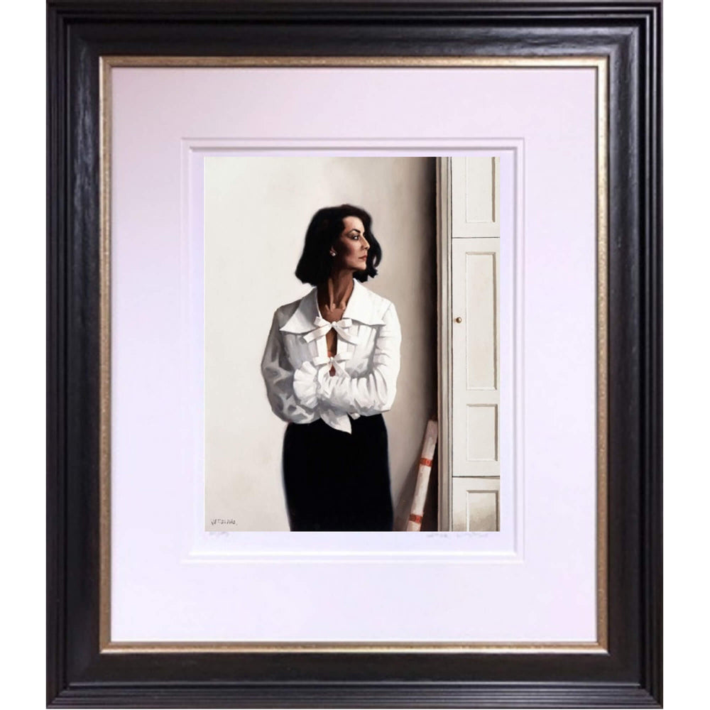 Edinburgh Afternoon The Contemplation Series Jack Vettriano Framed