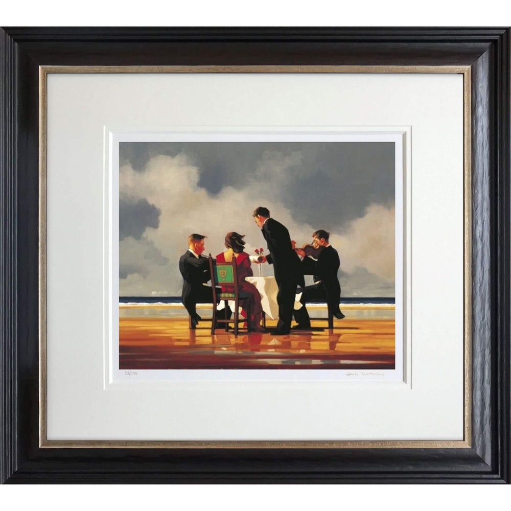 Elegy For A Dead Admiral Jack Vettriano Framed Limited Edition