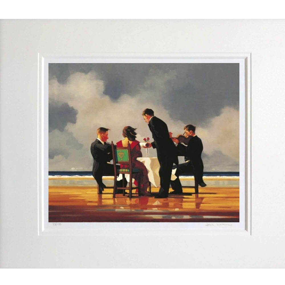 Elegy For A Dead Admiral Jack Vettriano Mounted Limited Edition