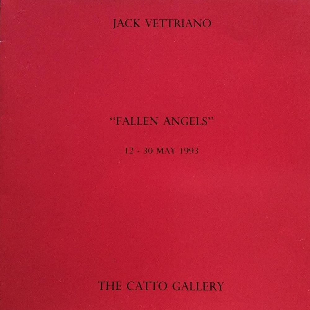 Fallen Angels Exhibition Catalogue Jack Vettriano