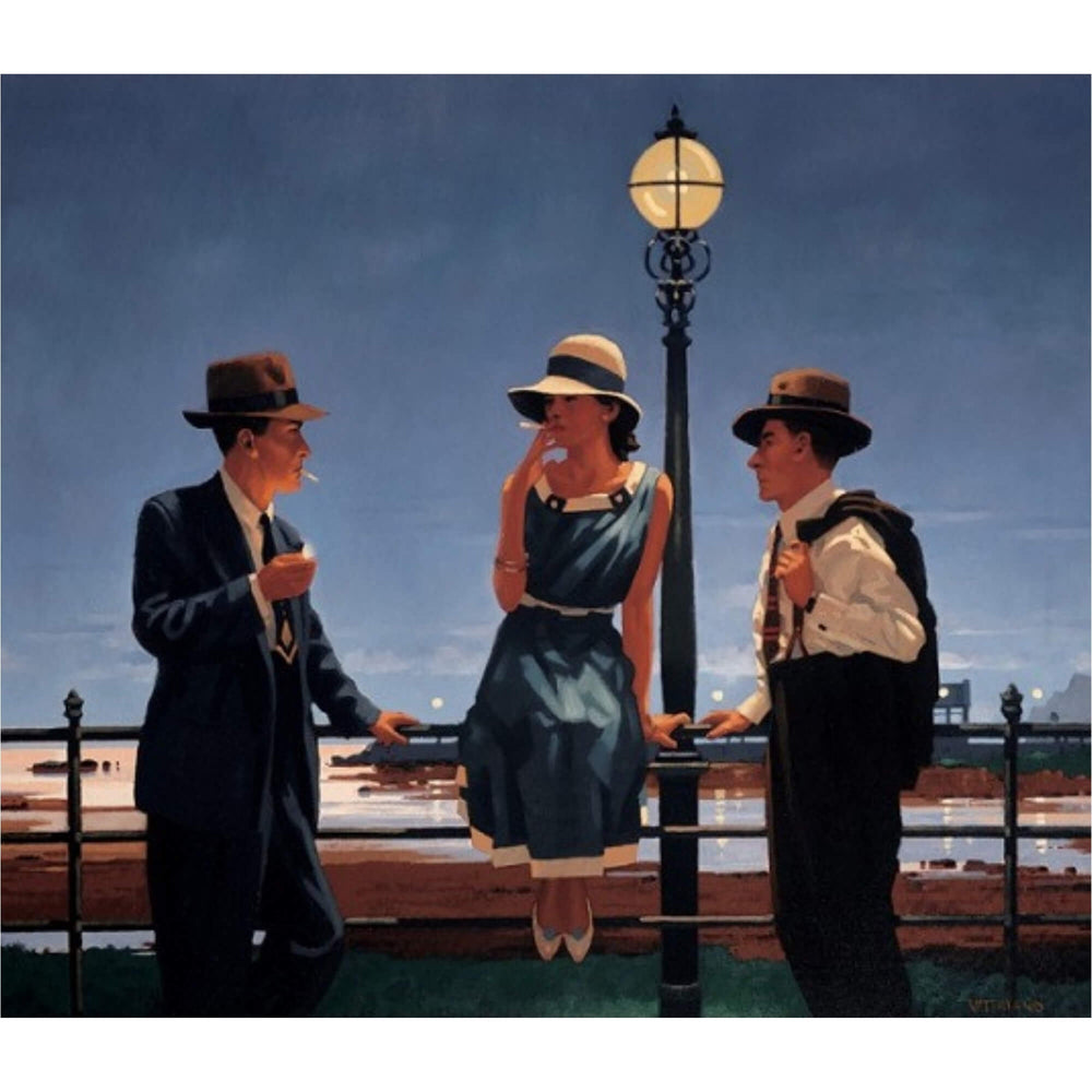 Game of Life - Limited Edition Print - Jack Vettriano