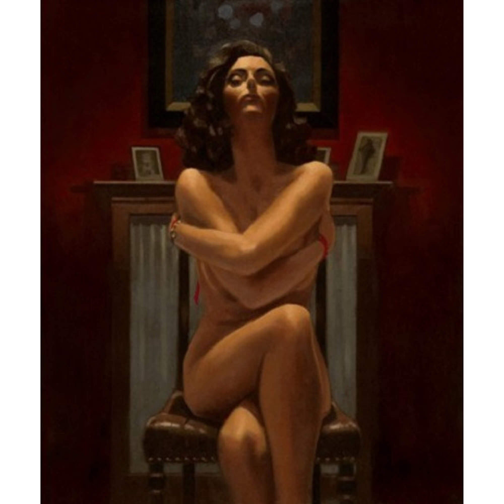 Jack Vettriano Just The Way It Is (Mini) Limited Edition Framed