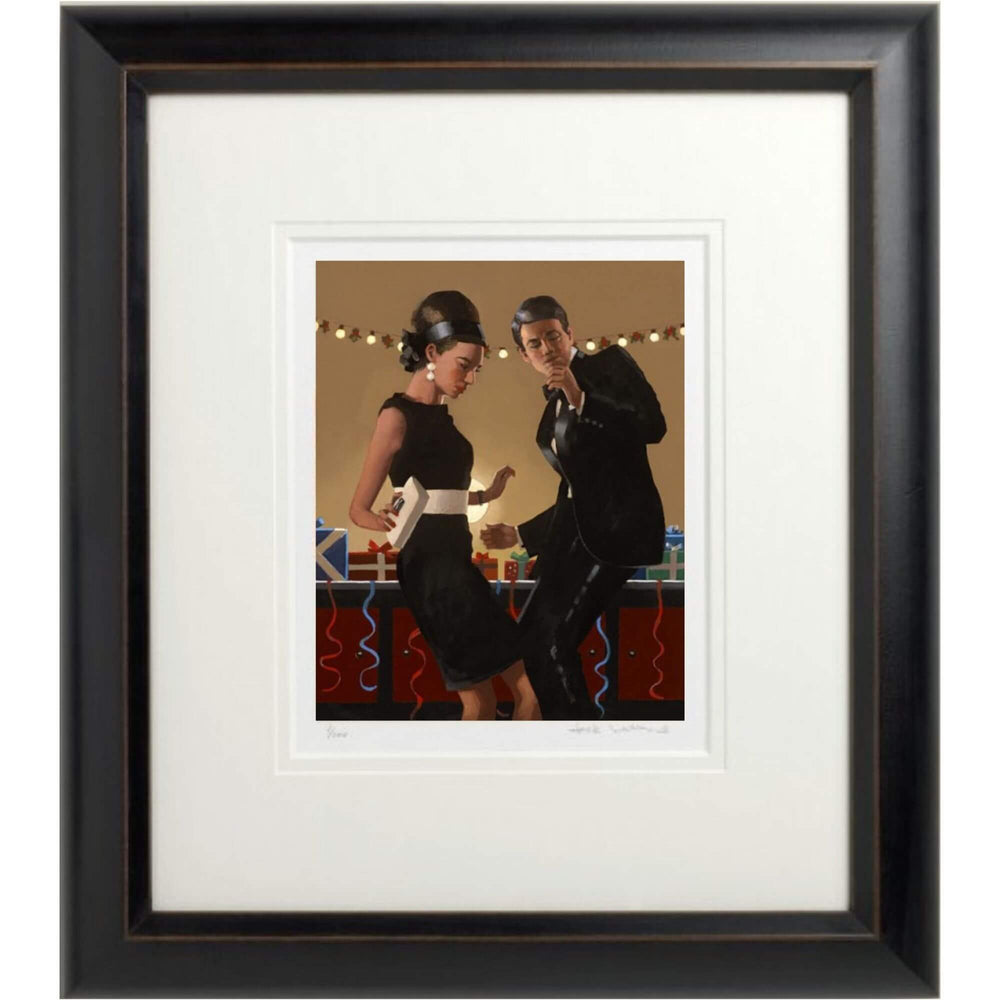 Lets Twist Again Jack Vettriano Framed Limited Edition