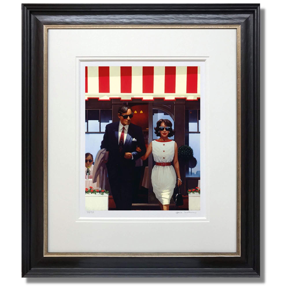 Lunchtime Lovers Jack Vettriano Framed Limited Edition Print