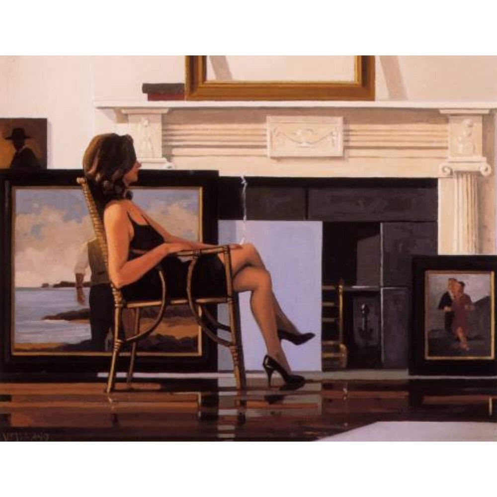 The Model and The Drifter Print Jack Vettriano