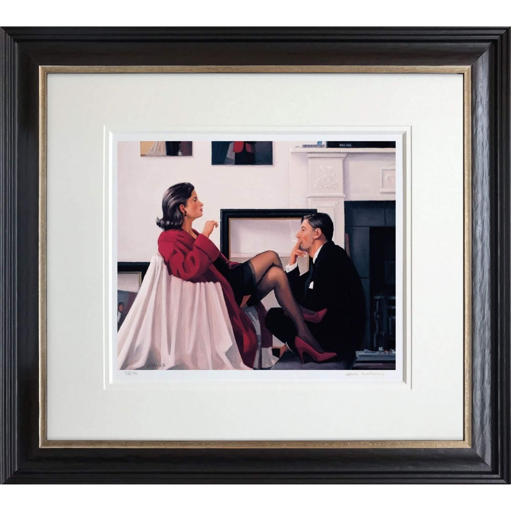 Models in the Studio Jack Vettriano Limited Edition Framed