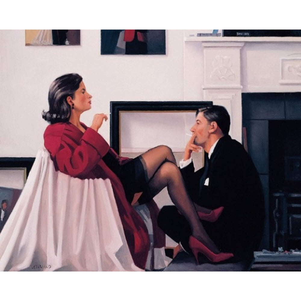 Models in the Studio - Limited Edition Print - Jack Vettriano