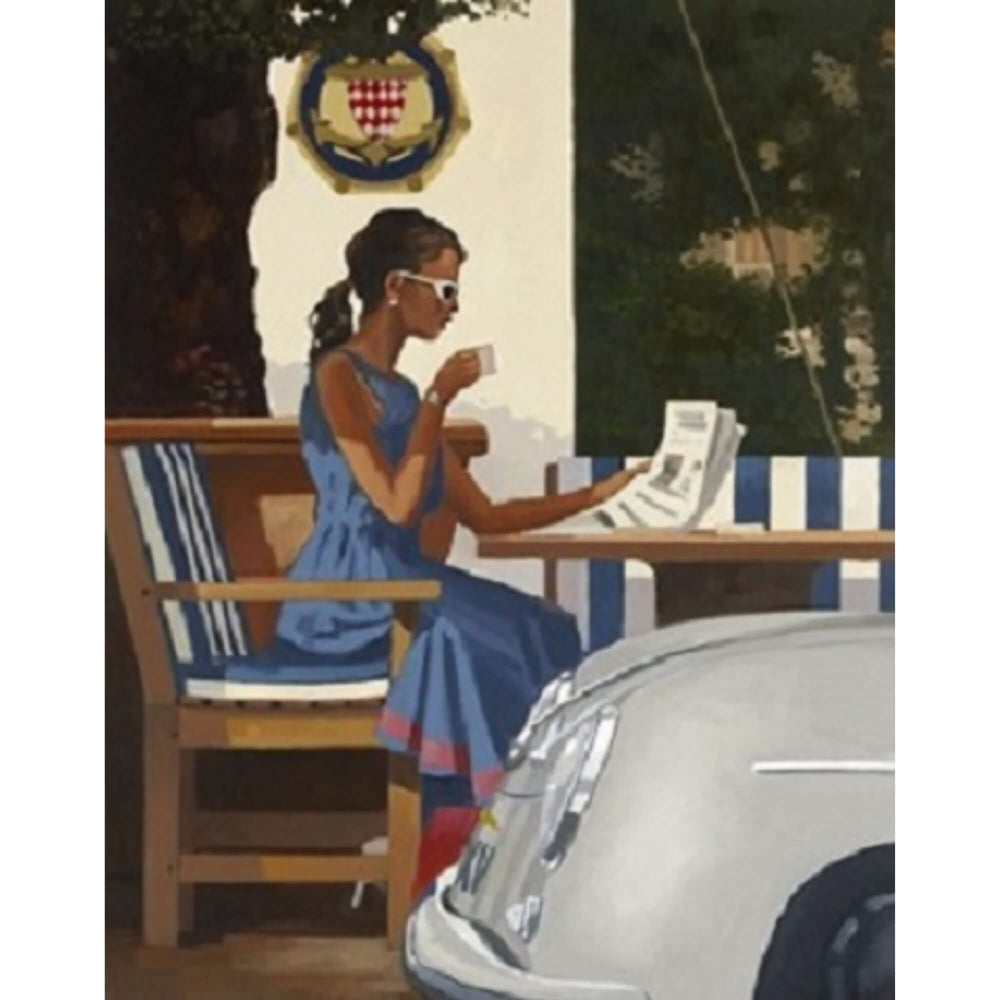 Morning News Jack Vettriano