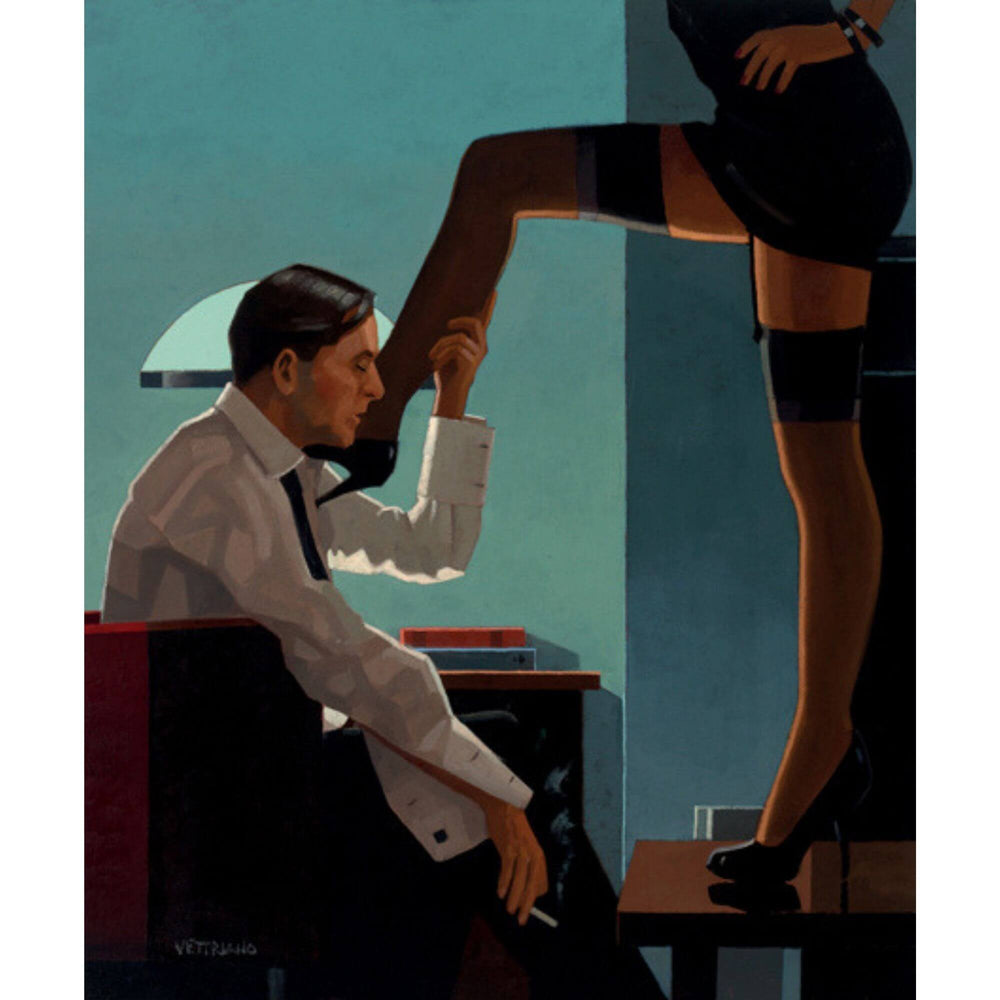 Night Calls Jack Vettriano