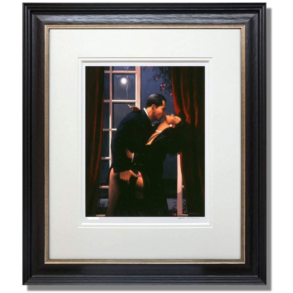 Night Geometry Jack Vettriano Framed