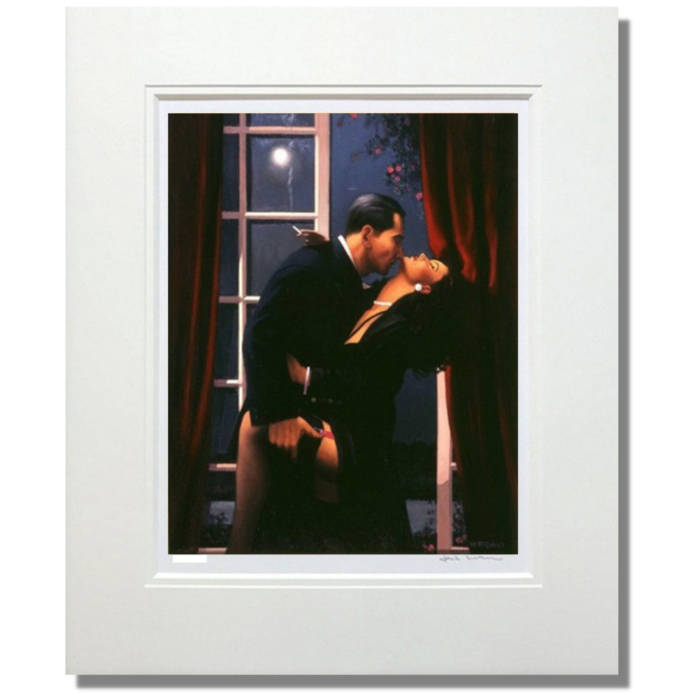 Night Geometry by Jack Vettriano Mounted Limited Edition