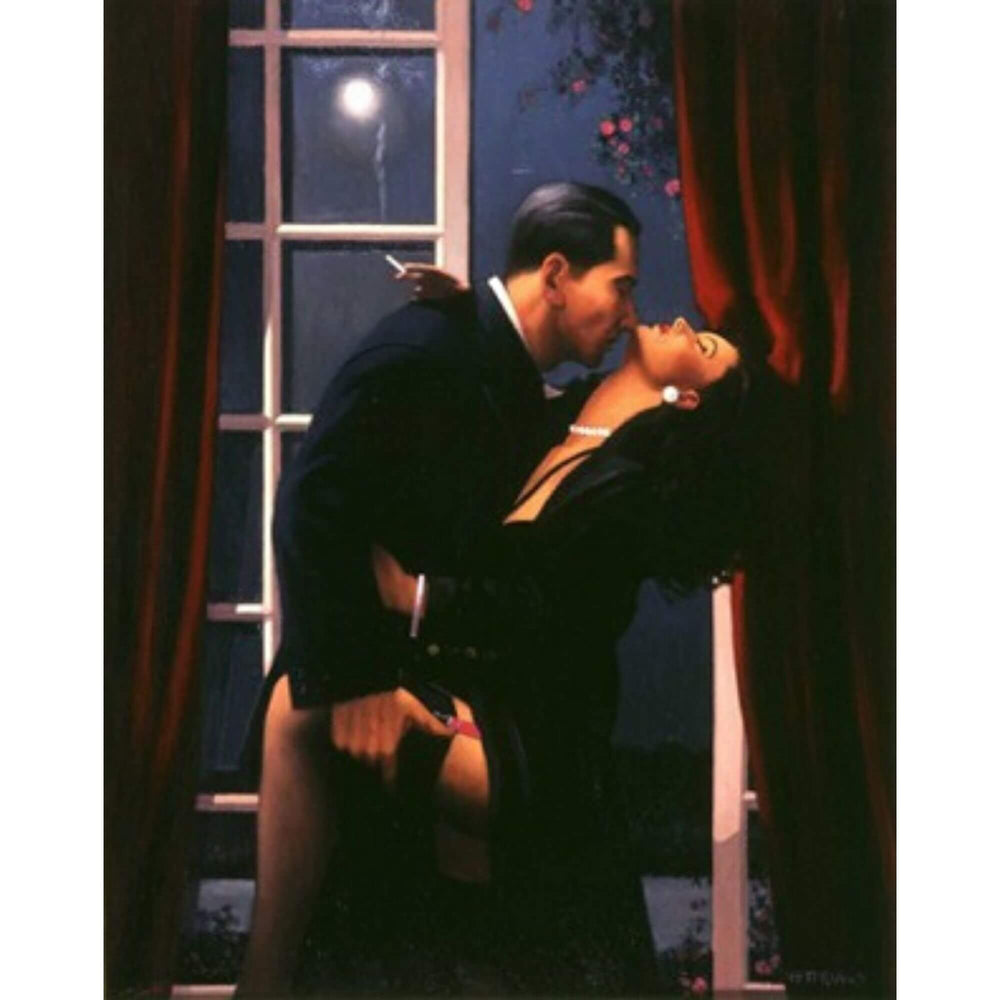 Night Geometry Jack Vettriano