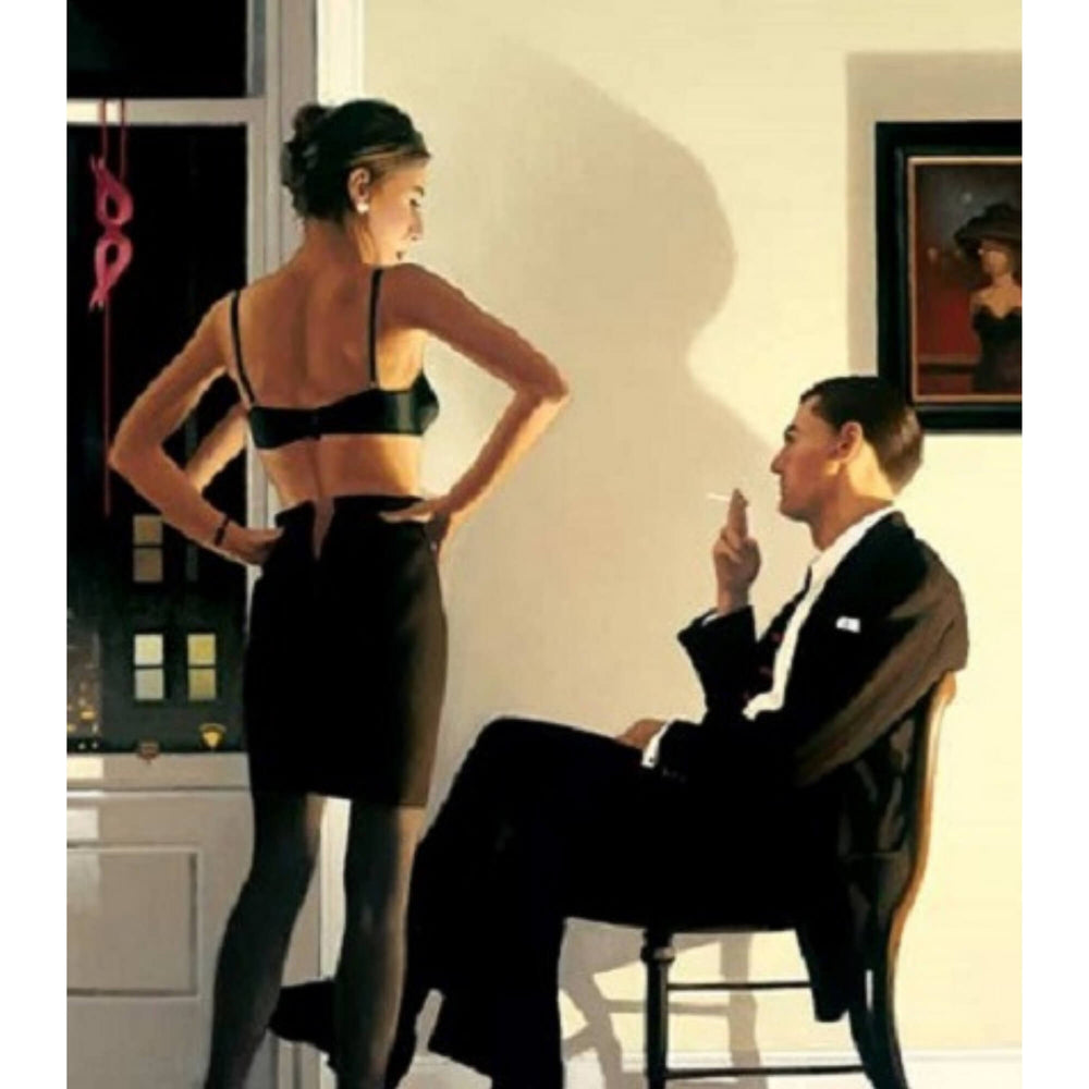 Night In The City Limited Edition Print Jack Vettriano