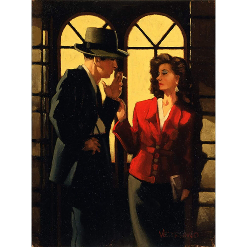 Night Negotiations Jack Vettriano