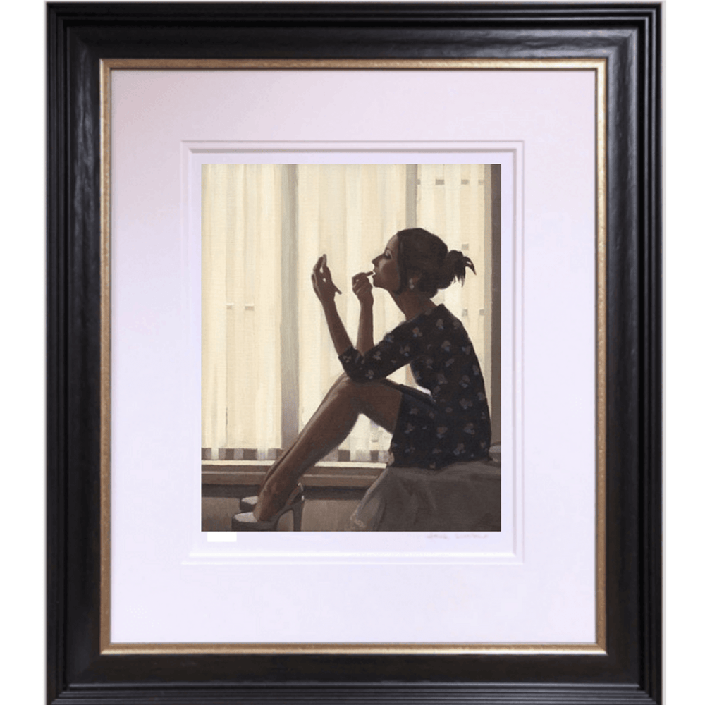 Only The Deepest Red II Artist's Proof Print Jack Vettriano Framed