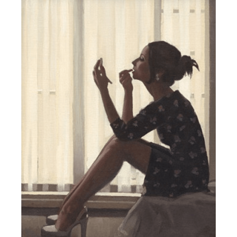 Only The Deepest Red II Jack Vettriano