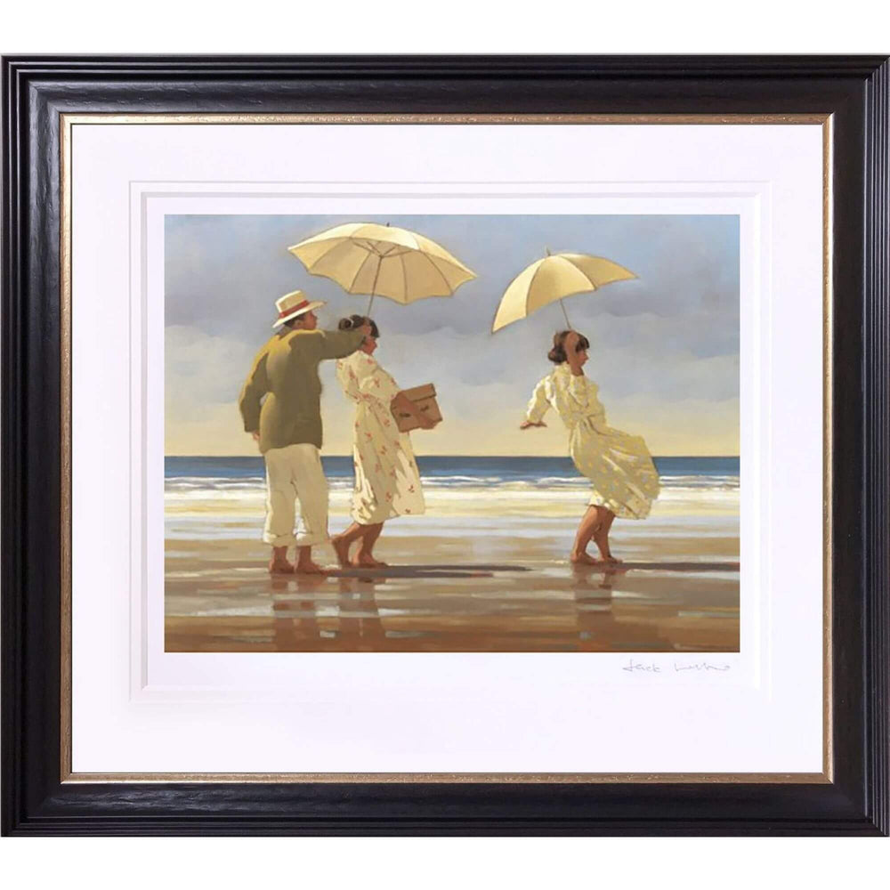 The Picnic Party by Jack Vettriano Limited Edition Framed