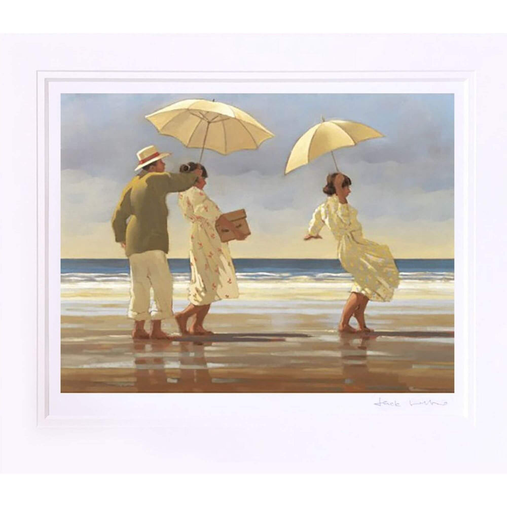 Picnic Party by Jack Vettriano Mounted
