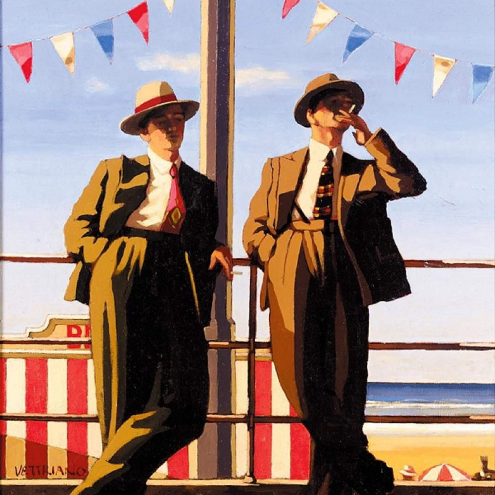 Seaside Sharks Jack Vettriano