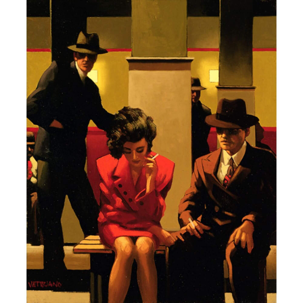 Sometimes Its A Mans World Jack Vettriano