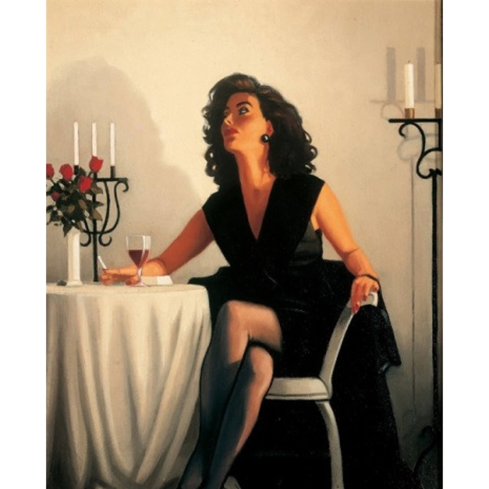 Table for One Limited Edition Print Jack Vettriano
