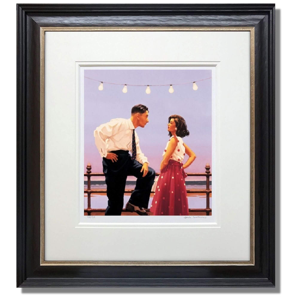 The Big Tease Jack Vettriano Framed